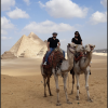 camel ride at pyramid