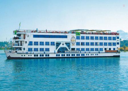 Nile cruise boat Aswand and Luxor